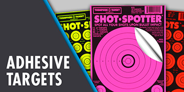 Adhesive Shooting Targets by Thompson