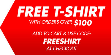 Free Thompson Target T-Shirt with $100 purchase of our bright quality shooting targets