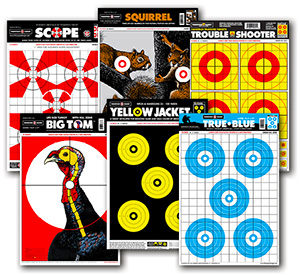 Bright Quality Paper Shooting Targets