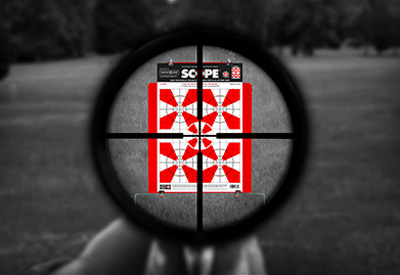 Thompson Paper Scope Shooting Targets