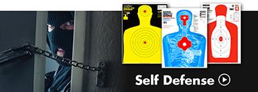 Thompson Human Silhouette Self Defense Shooting Targets