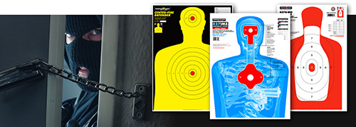 Thompson Silhouette Paper Shooting Targets